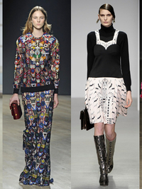 LFW Fall 2014 Trends: Feminine & Whimsical Prints