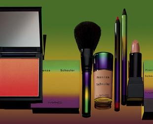 Take a peek at the first photos from the upcoming MAC Proenza Schouler spring 2014 makeup collection!