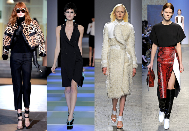MFW Fall 2014 Trends: Masculine Influences & Animal Prints