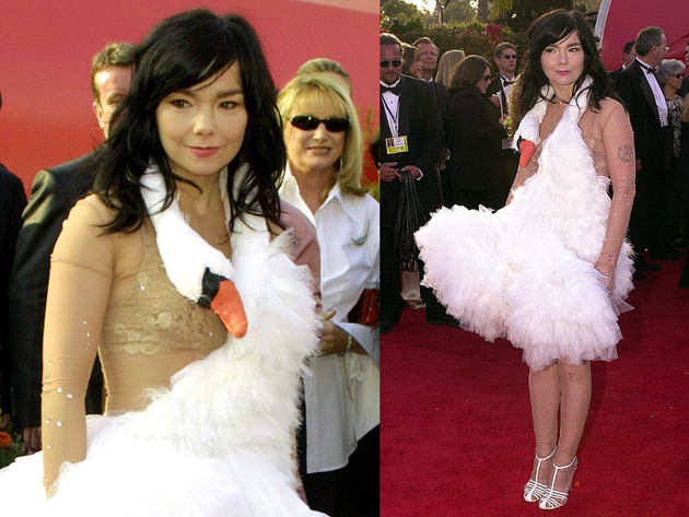 Bjork Oscars Dress 2001