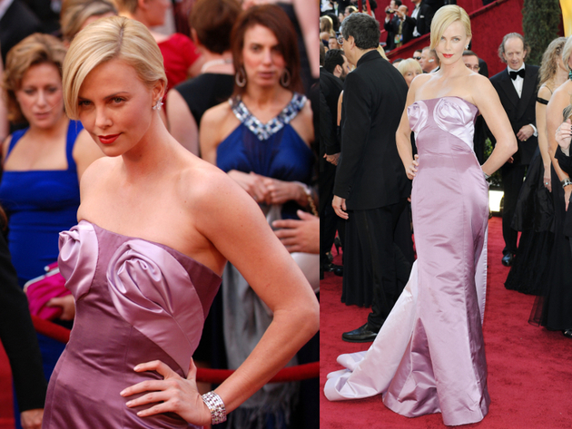 Charlize Theron Oscars Dress 2010