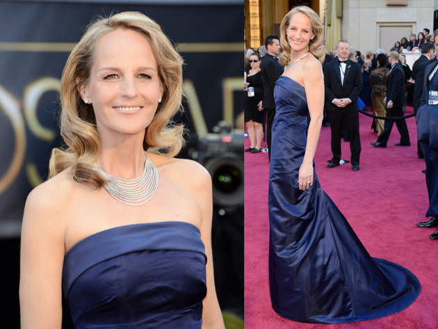 Helen Hunt Oscars Dress 2013