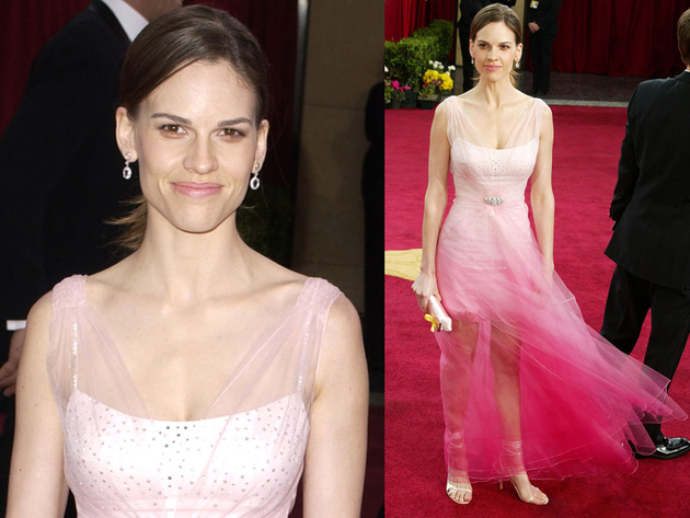 Hilary Swank Oscars Dress 2003