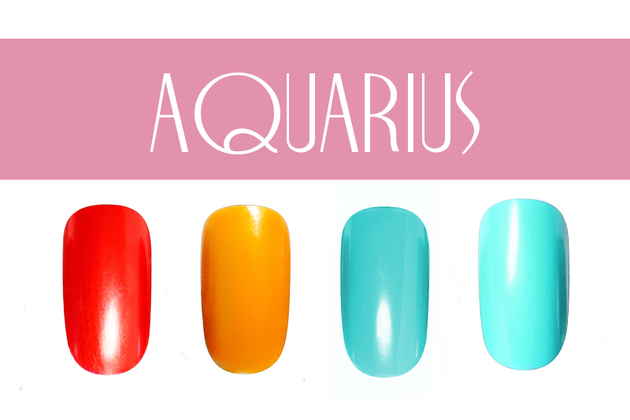 Aquarius Nail Colors