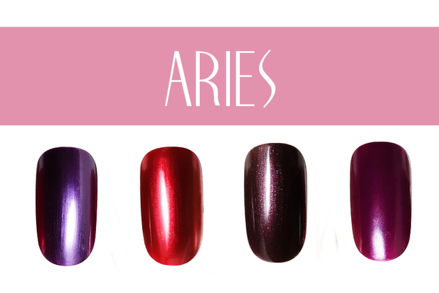 Aries Nail Colors