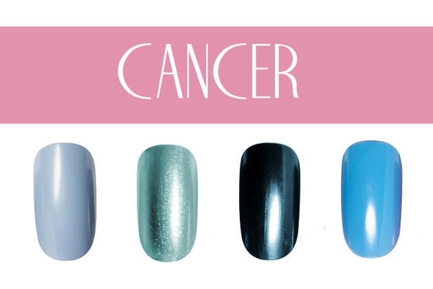 Cancer Nail Colors