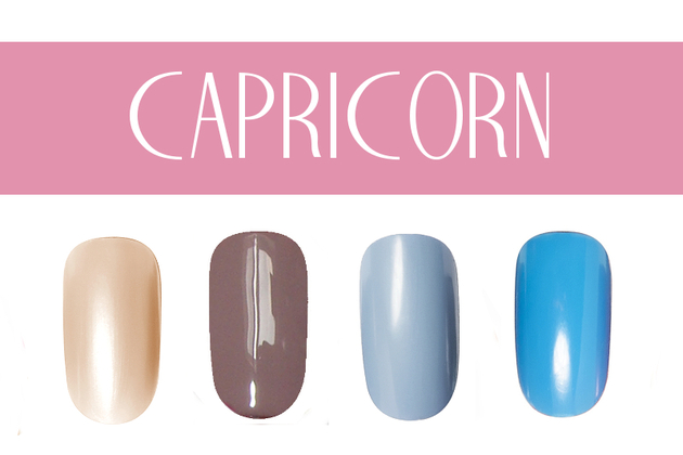 Capricorn Nail Colors