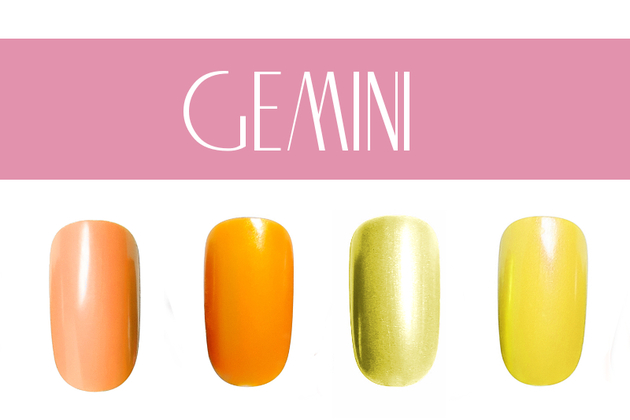 Gemini Nail Colors