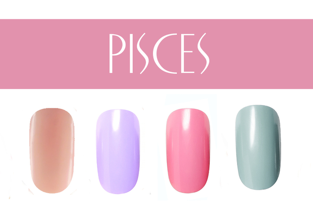 Pisces Nail Colors