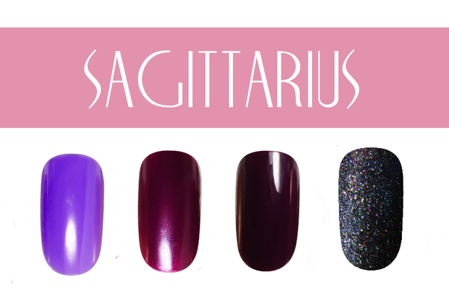 Sagittarius Nail Colors
