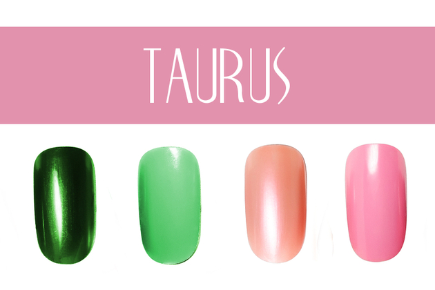 Taurus Nail Colors