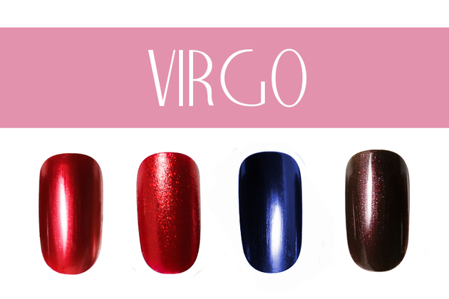 Virgo Nail Colors