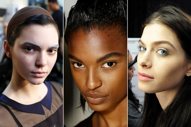 Bold Eyebrows Fall 2014 Makeup Trends