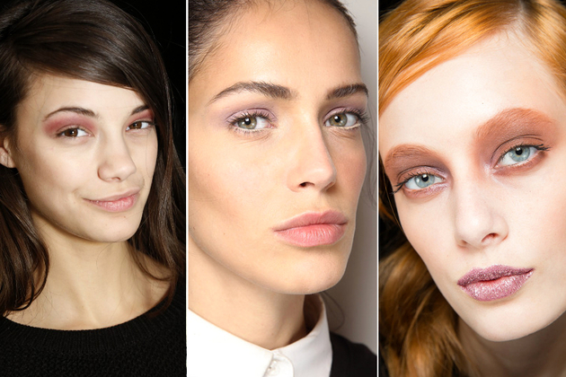 Violet Eyes Fall 2014 Makeup Trends