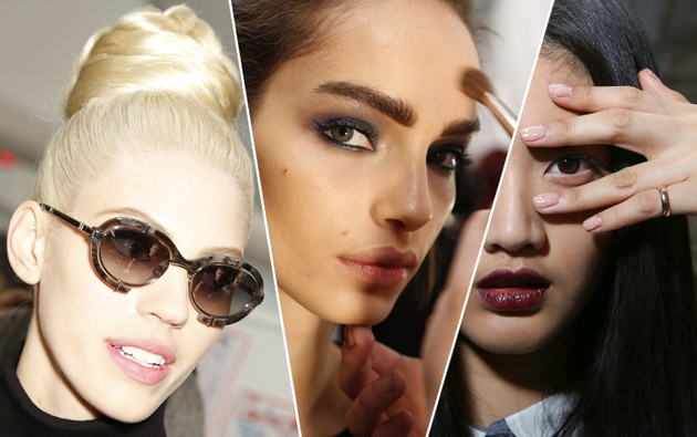 Fall 2014 Beauty Trends from New York Fashion Week