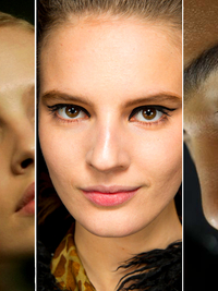 Bold Eyeliner Fall 2014 Makeup Trends