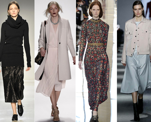 The Mercedes-Benz Fashion Week outlined the major trends for Fall/Winter 2014 and showcased the industry's vision for the next season. Discover the key trends.