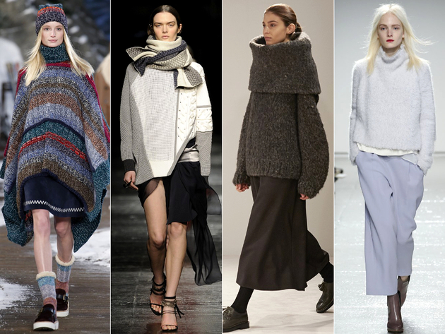 Knitwear Fall 2014 Trends