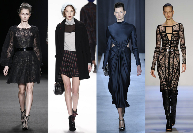 NYFW Fall 2014 Trends: Dark Tones, Minimalism and Androgyny