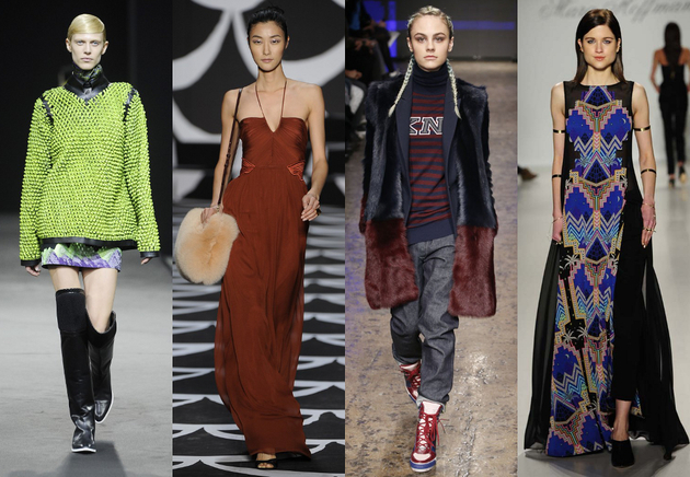 NYFW Fall 2014 Trends: Sporty Vibes and Eclectic Prints