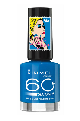 Rita Ora Rimmel London Blindfold Me Blue