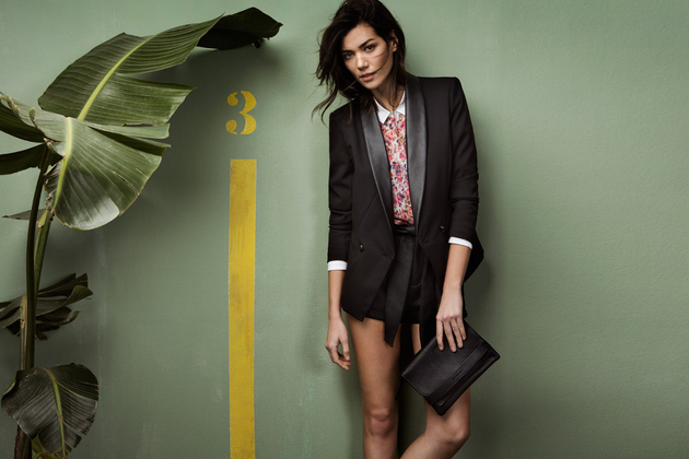 Stradivarius Spring 2014 Catalog Look