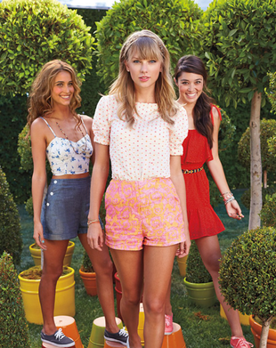 Taylor Swift For Keds Spring 2014 Line