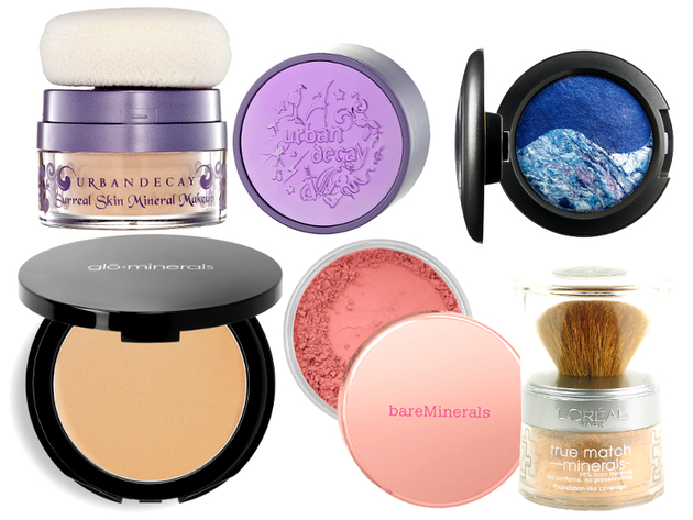 Mineral Makeup Products For Face And Eyes