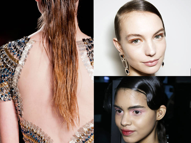 Wet Hair Trends Fall 2014