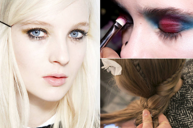 Top Beauty Trends from London Fashion Week AW14