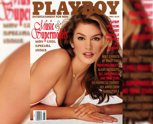 Some of the best fashion shoots of all time feature partial nudity, but a lot of supermodels have taken a step further by posing for Playboy. See their covers.
