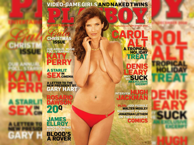 Carol Alt Playboy Cover 2008