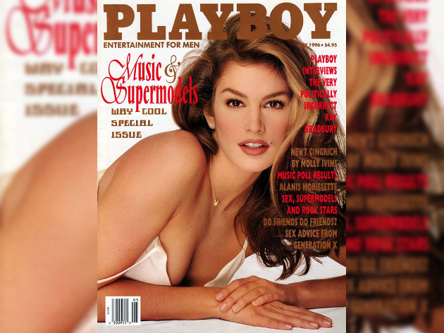 Cindy Crawford Playboy Cover 1996