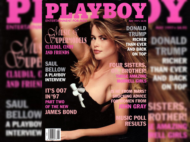 Claudia Schiffer Playboy Cover 1997