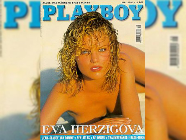 Eva Herzigova Playboy Cover 1995