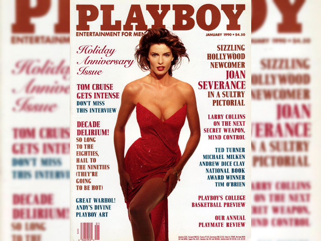 Joan Severance Playboy Cover 1990