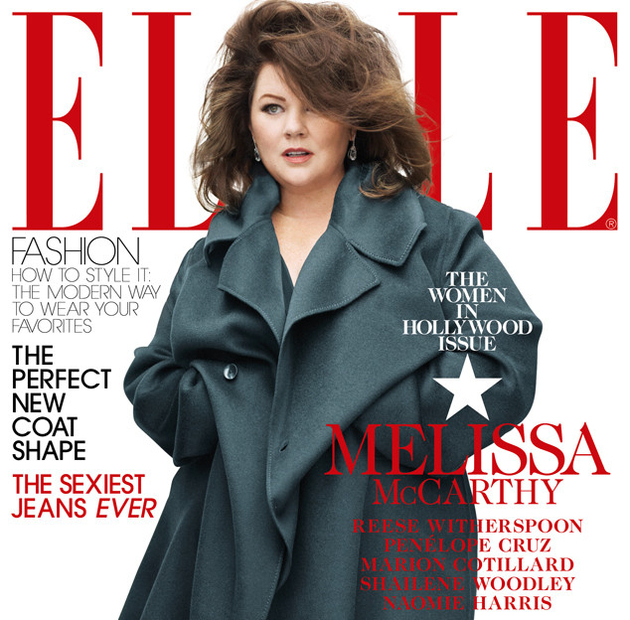 Melissa Mc Carthy Elle Cover