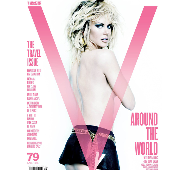 Nicole Kidman On V September 2012