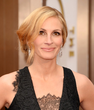 Julia Roberts Oscars Hairstyle 2014