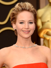 Jennifer Lawrence Oscars Hairstyle 2014