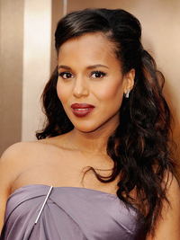 Kerry Washington Oscars Hairstyle 2014
