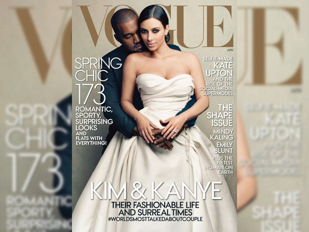 Kim And Kanye Vogue April 2014