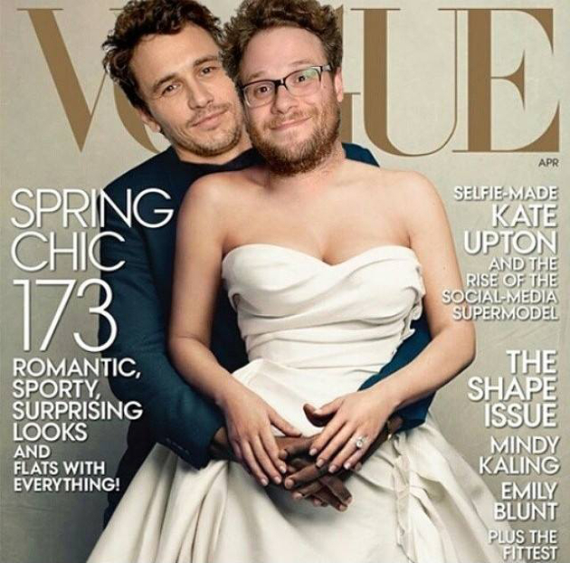 Seth Rogen James Franco Vogue Cover