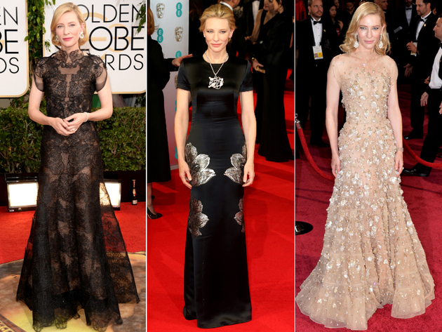 Cate Blanchett Dresses Award Season 2014