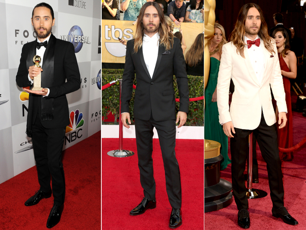 Jared Leto Suits Award Season 2014