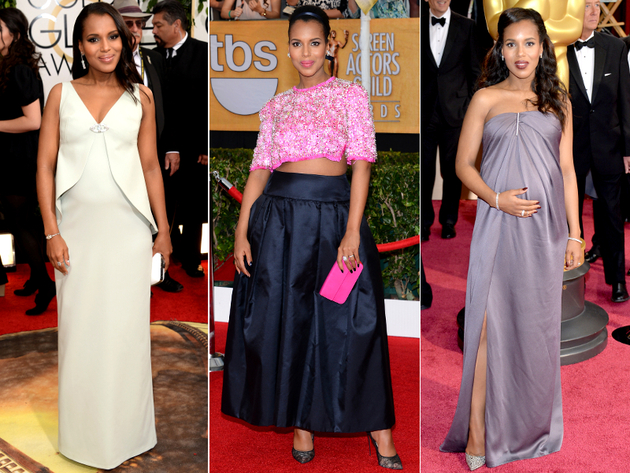 Kerry Washington Dresses Award Season 2014