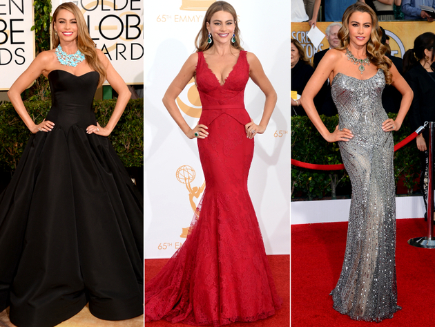 Sofia Vergara Dresses Award Season 2014
