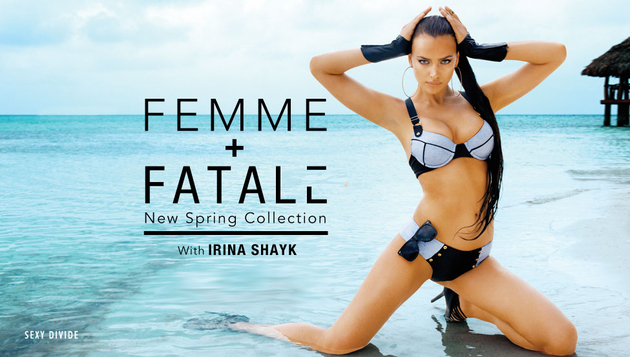 Beach Bunny Femme + Fatale Spring 2014 Swimwear Campaign