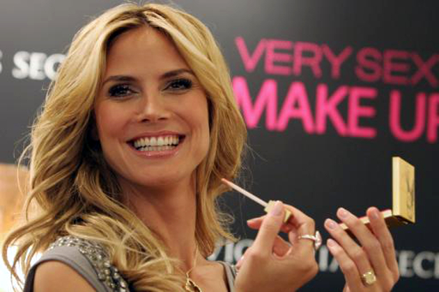 Heidi Klum Victorias Secret Makeup Collection