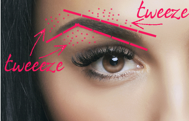 How To Tweeze Eyebrows